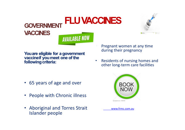 Govt Flu Vacciness